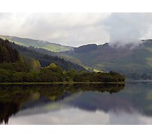Reflections in a Scottish Loch Photographic Print