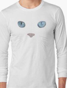 blue eyed puss Long Sleeve T-Shirt
