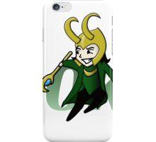 Cute and Mischievous Loki iPhone Case/Skin