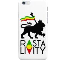 Rasta Livity BLK STK iPhone Case/Skin