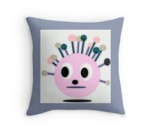 NEW, POLLY DOLLOPS, pink collectable Throw Pillow
