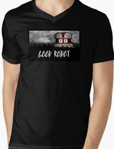 GOOD Robot Mens V-Neck T-Shirt