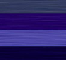 Brush Stroke Stripes: Winter Blues by katmun