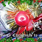 Christmas Bauble makes good Card by EdsMum
