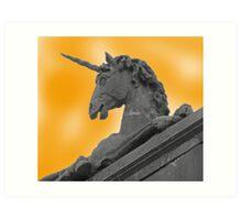 Unicorns Exist! Art Print