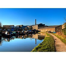 Canal Side Photographic Print