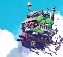 Howl's Moving Castle by Kaleigh Dominguez