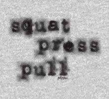 Squat. Press. Pull. by fitfizz