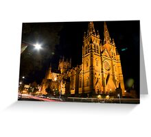 St.Mary's Cathedral Sydney  Greeting Card