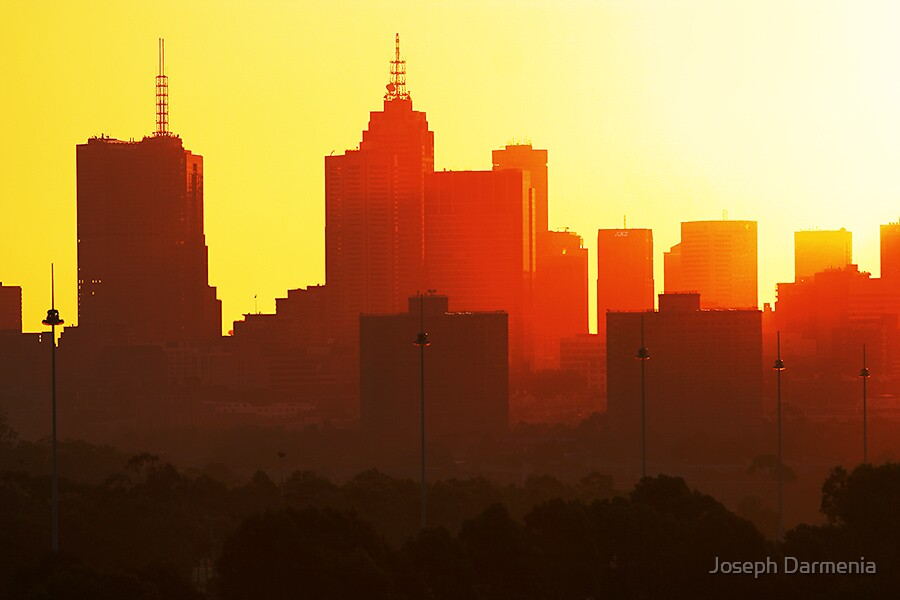 Hot Skyline by Joseph Darmenia
