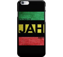 Soldier of JAH Army iPhone Case/Skin