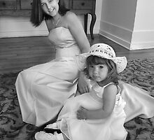 Bridesmaid and Flowergirl by Stevie Mancini