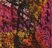 Corner Splatter # 12 by DomaDART