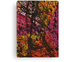 Corner Splatter # 12 Canvas Print