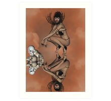 BlackThorn (a little lighter) Art Print