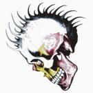 MvS-punky skull by Michelle Scott