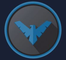 Nightwing - Logo V.01  by Bradley Carpenter