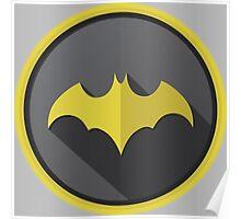 Batman Begins Logo Poster