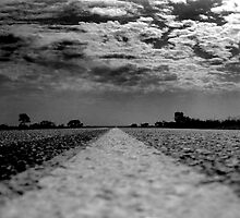 The open highway by Ian Batterbee