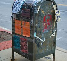 Mailbox Graffiti by MikeHopper
