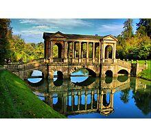 Palladian Bridge Prior Park Bath Photographic Print