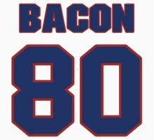 National football player Coy Bacon jersey 80 by imsport