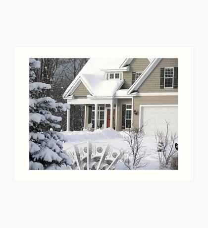 Home Mortgage Art Print