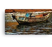 Uganda: Lake Mburo Canvas Print
