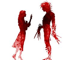 Edward Scissorhands [Red] by Jonathan Masvidal
