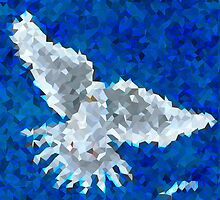 CRYSTALIZED DOVE by WhiteDove Studio kj gordon