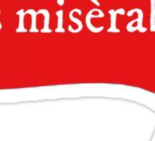 Les Miserables Flag Sticker