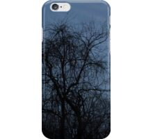 HDR Composite - Backlit Trees and Twilight iPhone Case/Skin