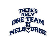 Melbourne Victory FC (North Terrace) Photographic Print