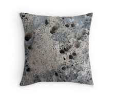 A Boring bit of Rock Throw Pillow