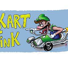 Kart Fink Lil Bro! by AvedonArcade
