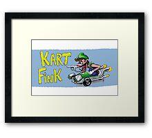 Kart Fink Lil Bro! Framed Print