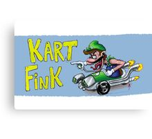 Kart Fink Lil Bro! Canvas Print