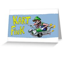 Kart Fink Lil Bro! Greeting Card