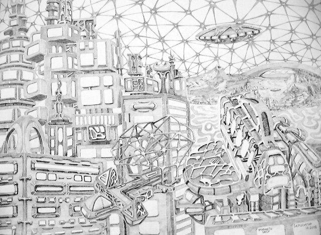 Magneto Ship by Harry G. Sepulveda