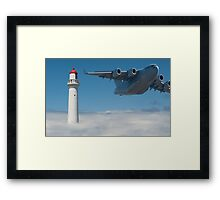 0020 Air Traffic Control Framed Print