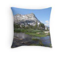 Yosemite's high country Throw Pillow