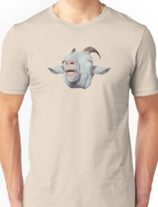 Happy Goat is Faded Unisex T-Shirt