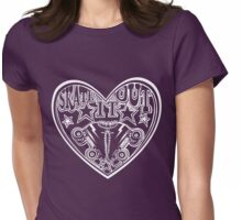 Roller Derby Skate It Out Womens Fitted T-Shirt