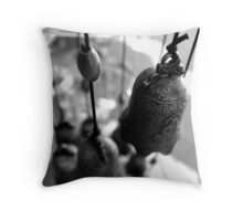Chinese Chimes Throw Pillow