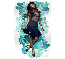 Normani Kordei Blue Splash!  Poster