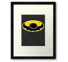Batman x Mario Framed Print