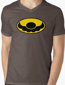 Batman x Mario Mens V-Neck T-Shirt