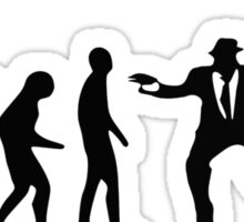 Evolution of the Blues brothers Sticker