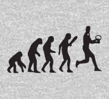 Tennis evolution by Grobie