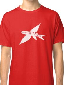 white flying fish Classic T-Shirt
